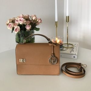 Henri Bendel West 57th Schoolbag in chipmunk (tan)